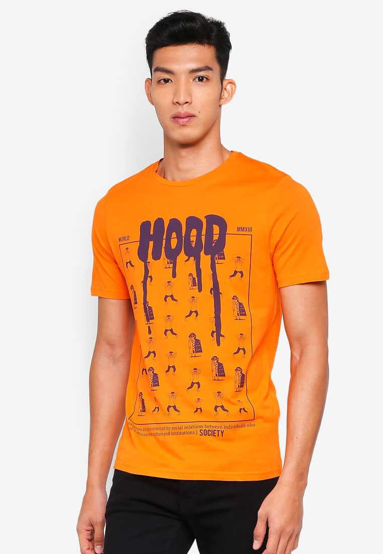 Poppy Florian Tee Printed Sons amp; Golden Only H6Aafnq6wY