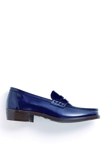 HARUTA 藍色 彩顏樂福鞋 88BE1SHDE379D8GS_1