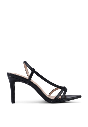 nose 黑色 Strappy Heel 涼鞋 6D973SH49904FFGS_1