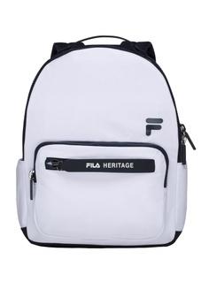 Fila white White Line Heritage Backpack 2DDE6AC564351FGS 1 e4591031c8778