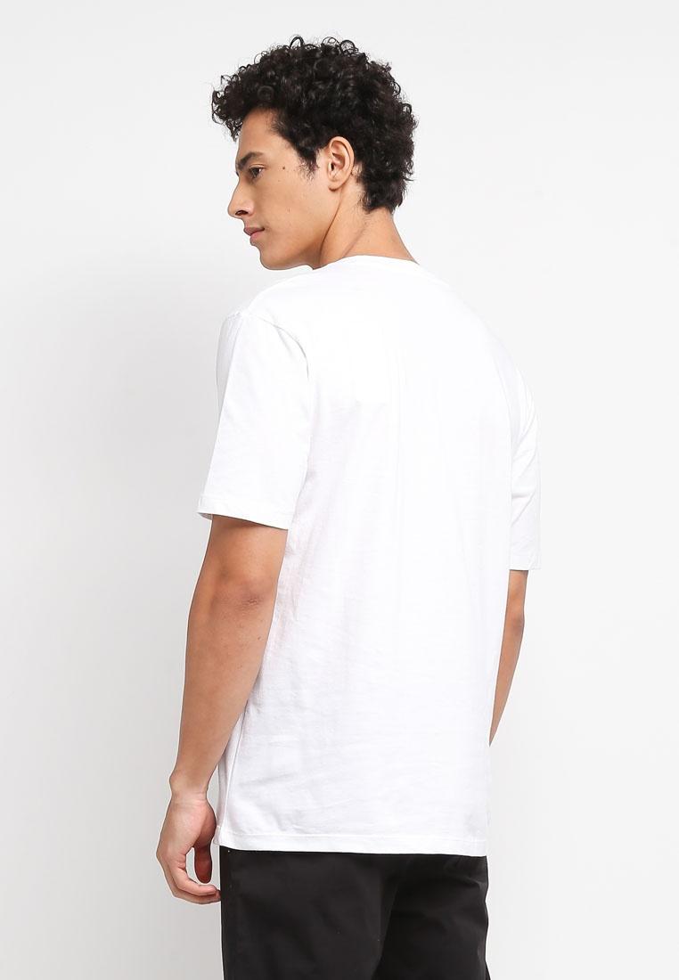 Man Message T White Cotton MANGO Shirt Organic X5UnqU