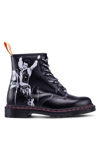 Dr. Martens black 1460 Sex Pistols 8 Eye Boots 2BFE8SH4CA38D9GS_1