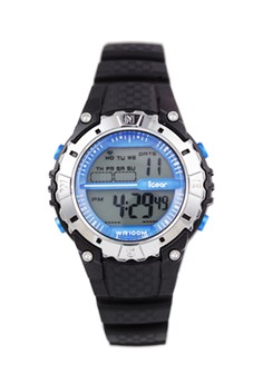 iGear I43-1938 Jam Tangan Digital Wanita Black Blue