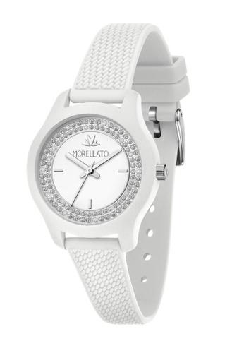 Morellato white Morellato Soft White Silicon Strap Ladies' Watches R0151163508 42A20ACD3E50B3GS_1