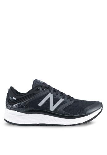 New Balance black 1080 V8 Fresh Foam Neutral Cushioning Performance Sneakers NE323SH0SS0EMY_1