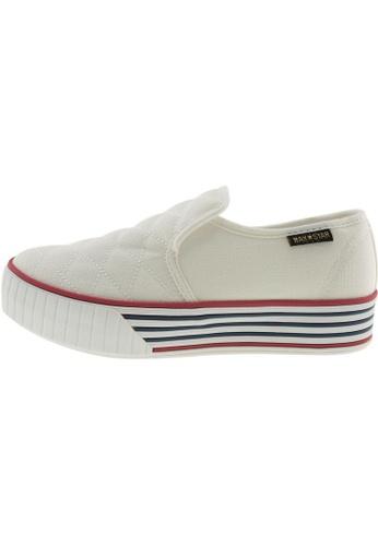 Maxstar Maxstar Women's C30 Stitched Platform Canvas Slip On Shoes US Women Size MA168SH45CAOHK_1