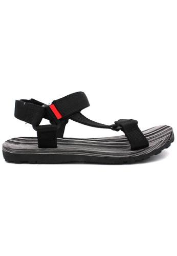 midzone grey MIDZONE Comfortable Outdoor Sandals 603C6SH4B5353AGS_1
