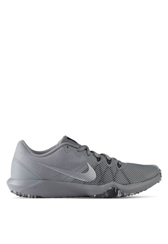 Nike black and grey Men's Nike Retaliation TR Training Shoes NI126SH0STSXMY_1