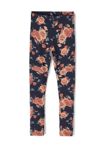 NAME IT navy Vivian Floral Printed Leggings 653F6KA4F1070DGS_1