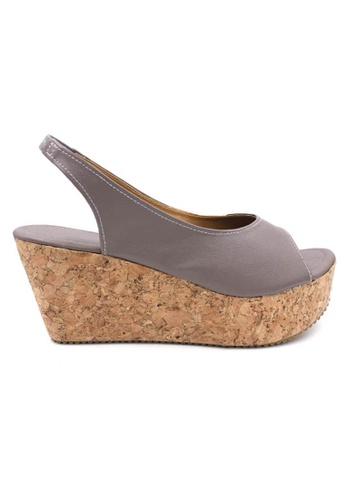 midzone grey MIDZONE Lady Fashion Wedges B359ESHAEDDB5CGS_1