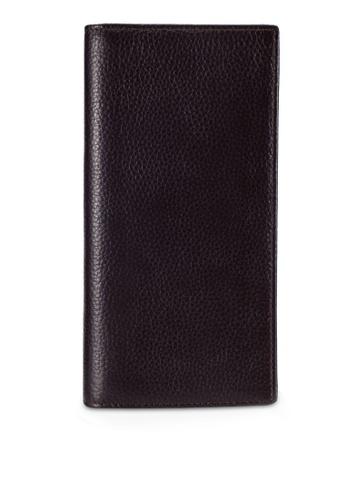 UniqTee brown Leather Rfid Blocking Travel Wallet UN097AC0RFW8MY_1