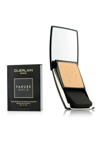 Guerlain GUERLAIN - Parure Gold Rejuvenating Gold Radiance Powder Foundation SPF 15 - # 12 Rose Clair 10g/0.35oz 3CB3BBEEC1F2EEGS_1