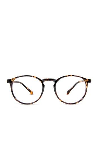 ASLLY multi Gaia's Movement│Anti-Blue light glasses with amber lenses 04E71GLA61124DGS_1