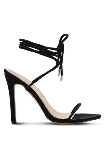 Public Desire 黑色 Slinky Barely There 蕾絲 Up Heels 3D490SH9EAB848GS_1