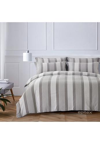 Epitex Epitex Urutora EC7801-2 1400TC Stonewashed Yarn-Dyed Bedsheet 27C94HL3383604GS_1