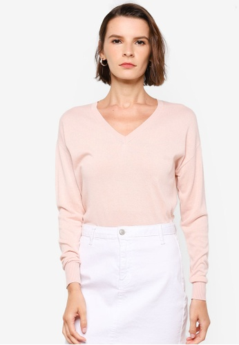 Vero Moda pink Jennifer Knitted Pullover AC2C2AA3935A61GS_1