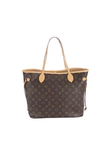 Louis Vuitton brown Pre-loved Louis VuittonNeverfull MM tote 44245ACC5AAC2BGS_1