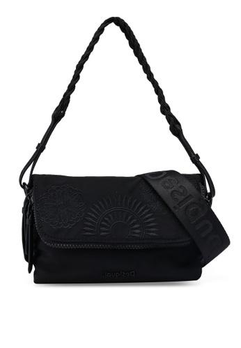 Desigual black Mandalas Sling Bag C4EFCACD242056GS_1