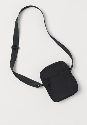 H&M black Small shoulder bag D089EACFA12F63GS_1
