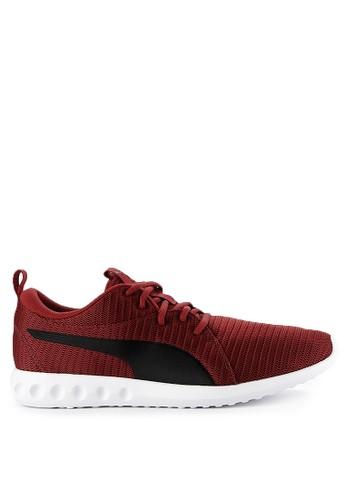 Puma red Carson 2 Shoes B2C94SH020B034GS_1