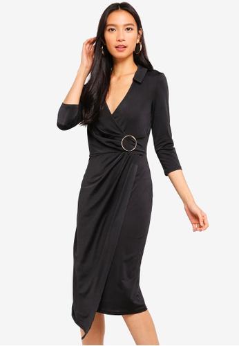 River Island black Streatham Dress 2ECBBAA3FA330CGS_1