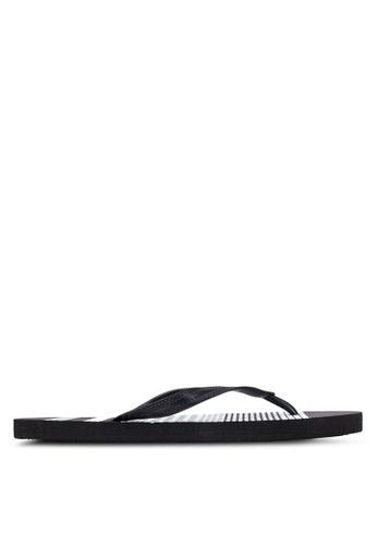 Factorie black Urban Flip Flops FA880SH0RYAFMY_1
