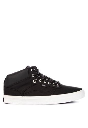 VANS black Coated Bedford Sneakers F8D3BSHF4C865AGS_1