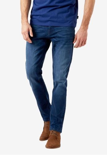 Burton Menswear London blue Indigo Slim Fit Jeans C68C4AA989A4ADGS_1