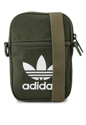 ADIDAS green trefoil festival bag D7DE7AC3AA25BAGS_1