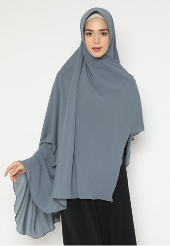 delarosa grey Diamond Khimar jumbo delarosa Gray Color 4CB24AA19E4910GS_1