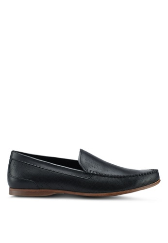 ALDO black Phelot Loafers 8BCF7SH71E9BEAGS_1