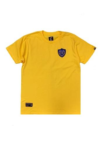 L.I.M.I.T.E yellow Emb. Badge TEE EB659AA8E913B9GS_1