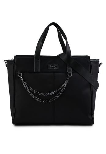 BETSY black Nadia Tote Bag 27ADCACEA9E871GS_1