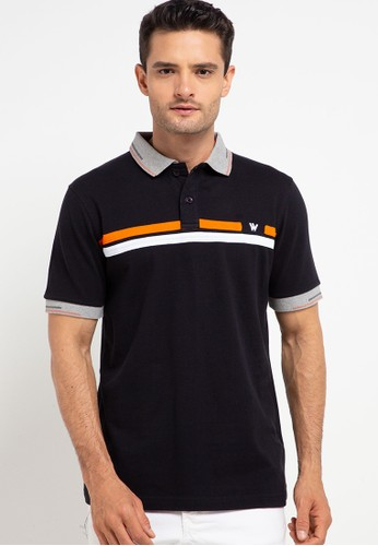 WALRUS black Polo Shirt Studio D206BAA8EFC9B3GS_1