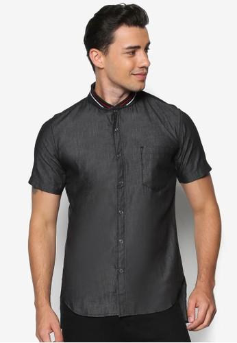 羅紋領短袖襯衫,esprit taiwan 服飾, 襯衫