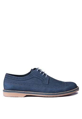 Antonio Manila grey Matthew Formal Shoes AN569SH54HGNPH_1