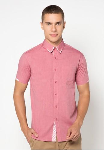 izzue red Short Sleeve Shirt IZ048AA17RCGID_1