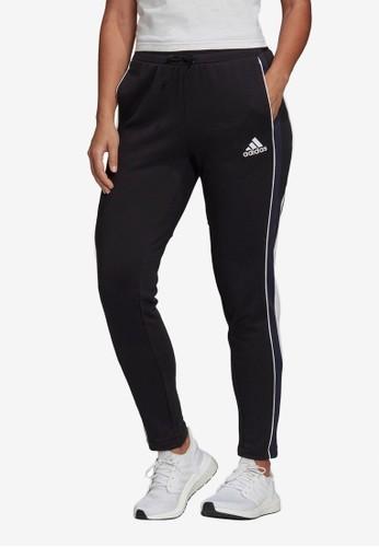 ADIDAS black colorblocked pants 1CA39AA6F1B14AGS_1