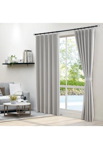 Epitex grey Epitex Clasica CLA302-5 Ready Made Curtain (Grey) 439E8HL61BB219GS_1