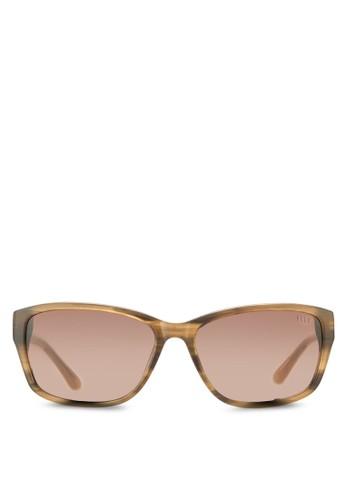矩形框太陽眼鏡, 飾品配件, 飾品esprit sg配件