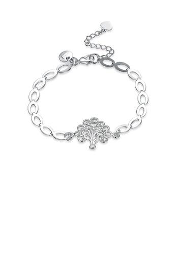 Glamorousky silver Fashion Minimalist Tree Of Life Bracelet D911EAC543F7BDGS_1