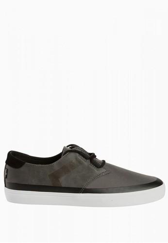 Levi's grey Levi's Black Tab Low Derby Sneaker - Regular Grey LE306SH0UMNSID_1