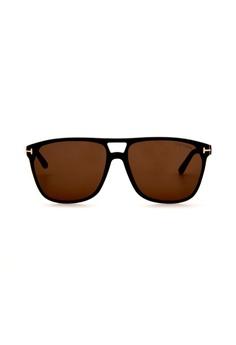 8a04b04d49d8 Tom Ford black and brown TOM FORD FT0679 01E Sunglasses 6814CGLF667752GS 1