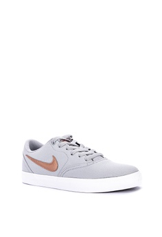 d91f7ea41 10% OFF Nike Nike Sb Check Solarsoft Canvas Shoes Php 3