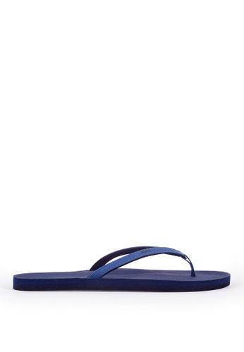 Indosole blue Indosole Women's ESSNTLS Flip Flops - Shore E3C3FSH1EEDB27GS_1