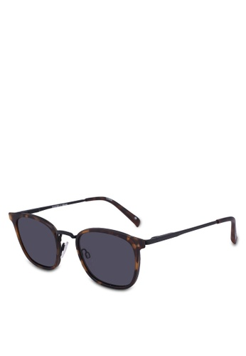 Le Specs brown Racketeer 1802446 Sunglasses 00A2FGLB8D6F4EGS_1