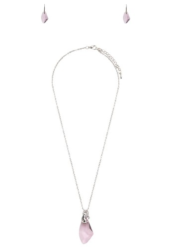 Dolphin 寶石吊飾首飾組合, 飾品配esprit官網件, 項鍊