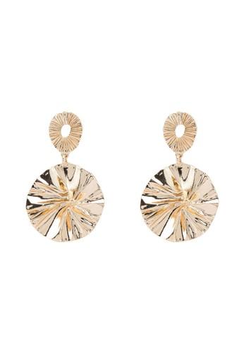 ONLY gold Framboise Earrings C3453AC2BB9406GS_1