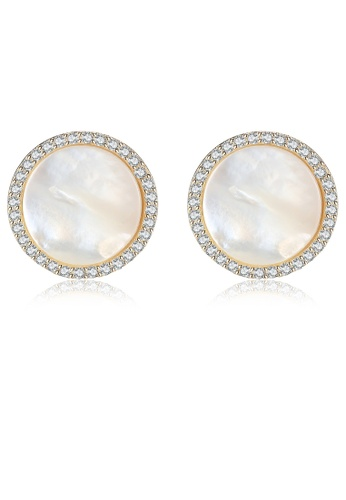 SUNRAIS silver High-grade colored stone silver fashion earrings 53C8AACB0D2E2AGS_1