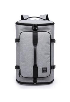 8176d595c9b8b A FRENZ grey Large Capacity Travel Laptop Backpack